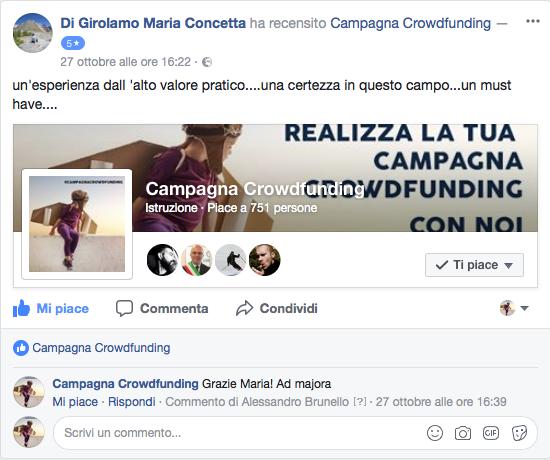 Recensione corso crowdfunding 4