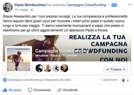 Recensione corso crowdfunding 3