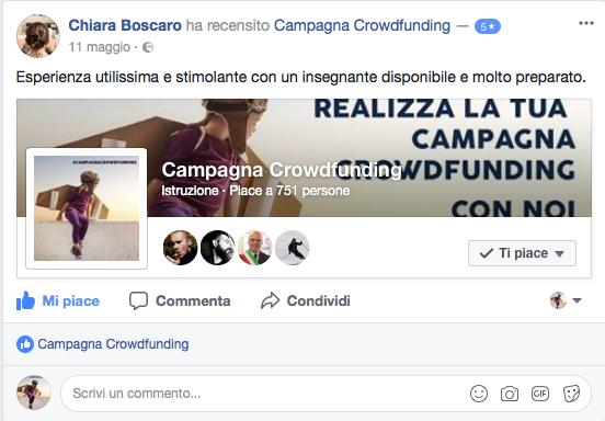 Recensione corso crowdfunding 2