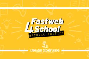 Fastweb 4 School, crowdfunding progetti tecnologici scuole superiori