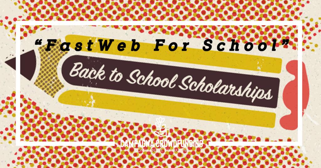 Crowdfunding Fastweb4School, progetto scuole secondarie