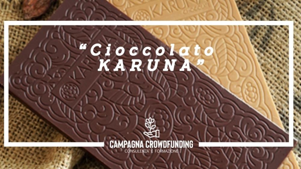 Cioccolato Karuna crowdfunding